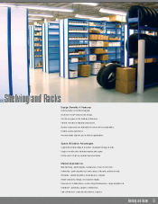 Shelving and racks
